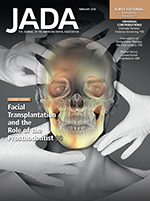 Journal of the American Dental Society cover image linking to articles