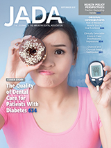JADA cover linking to articles